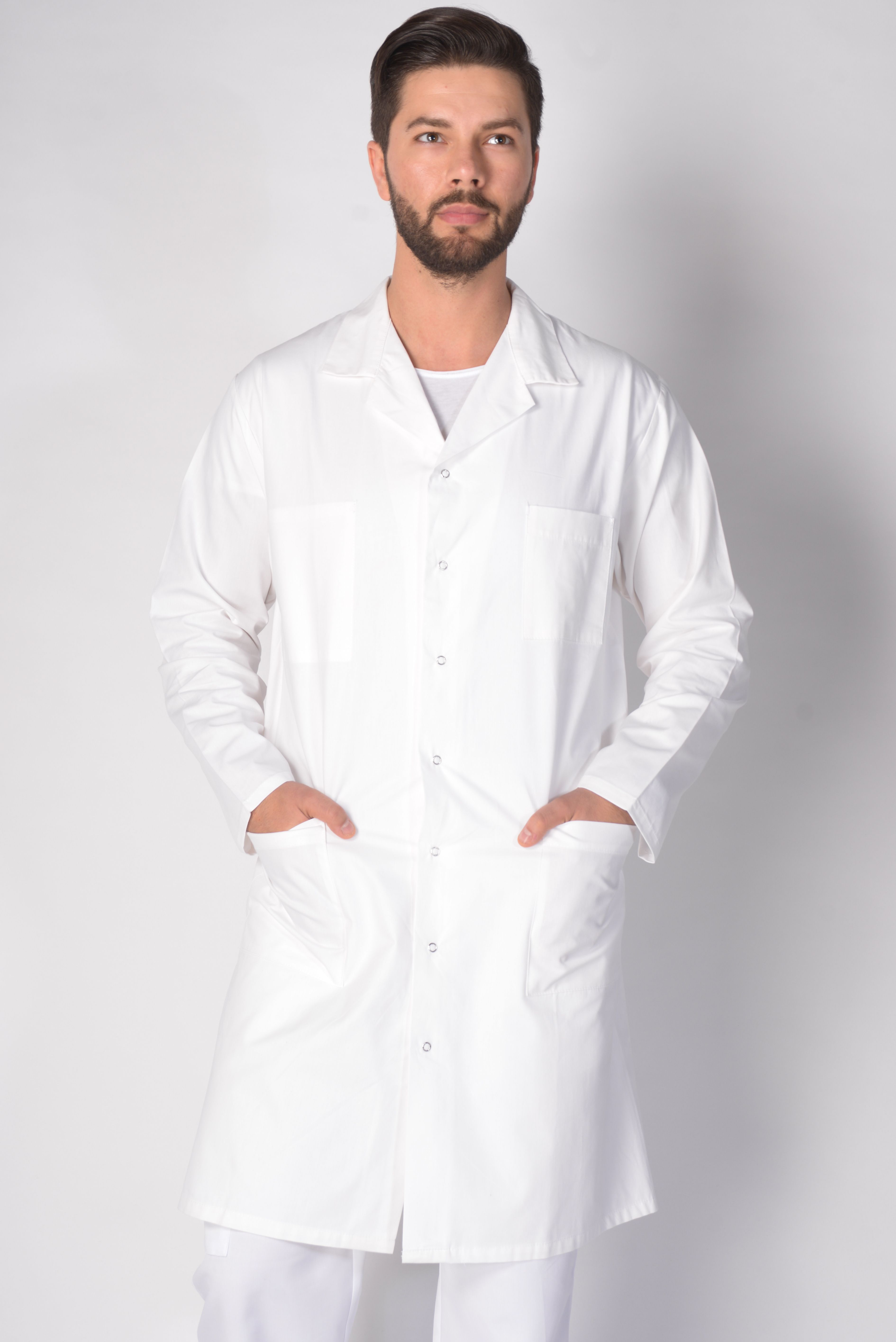 afc1f49405e86 Blouse Blanche Medicale Homme Lafont Axel   order in the court ...