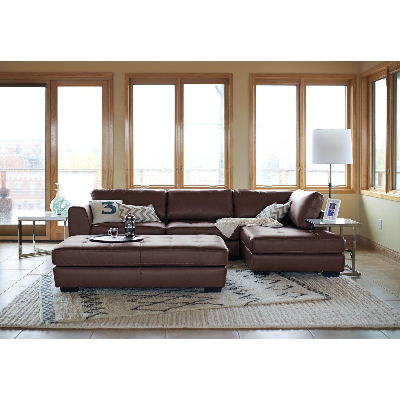 Ciera 2 Pc Sectional Reverse Cheap Living Room Sets Living Room Sets Furniture Affordable Living Room Set
