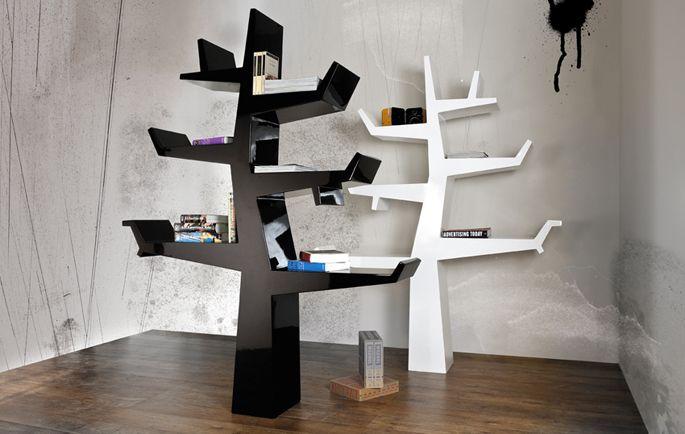 Bijzondere boekenkast tree pinterest book storage cupboard