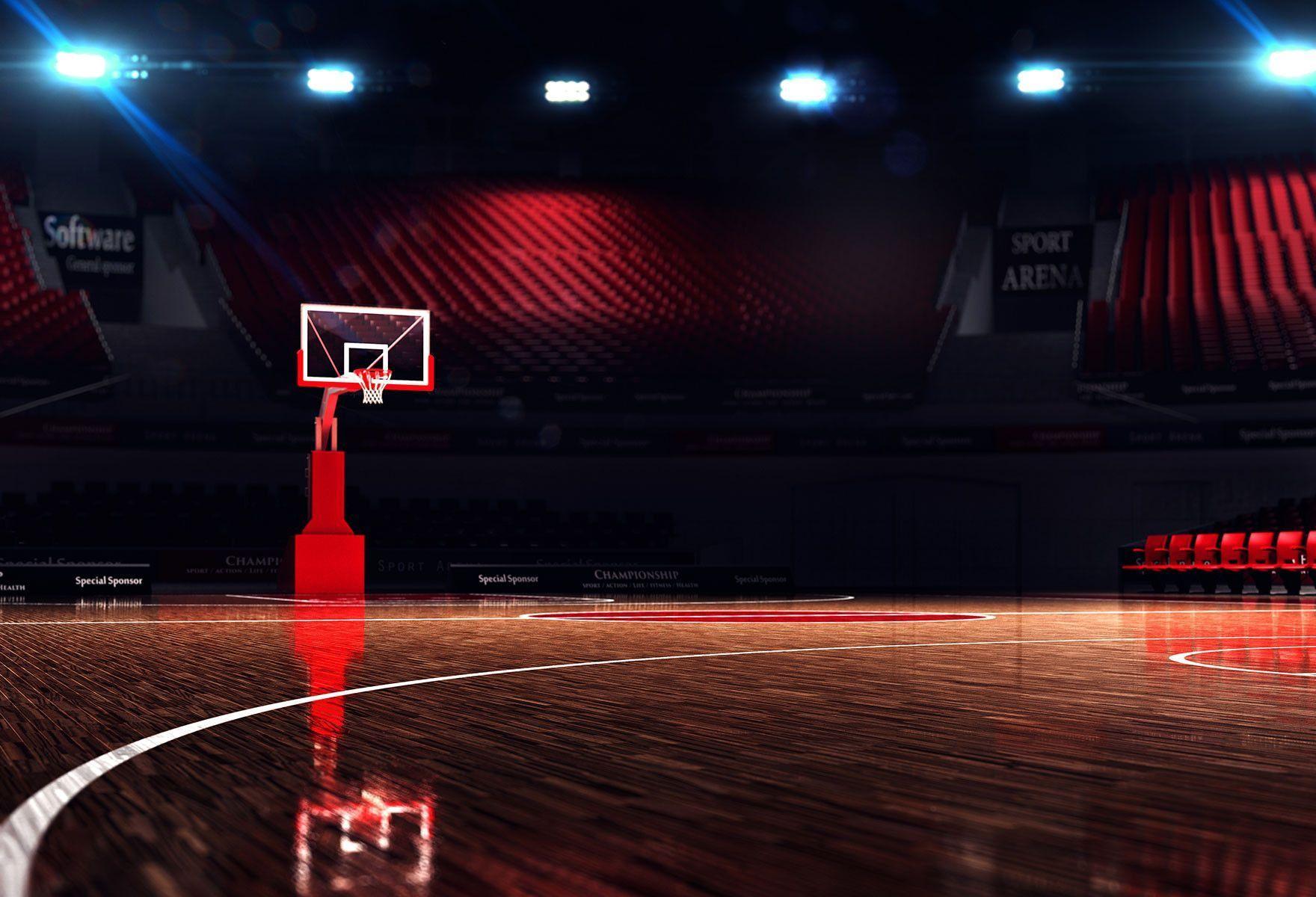 Basketball Court Backdrops Sport Backdrops Photography Background Hj04319 Jardins