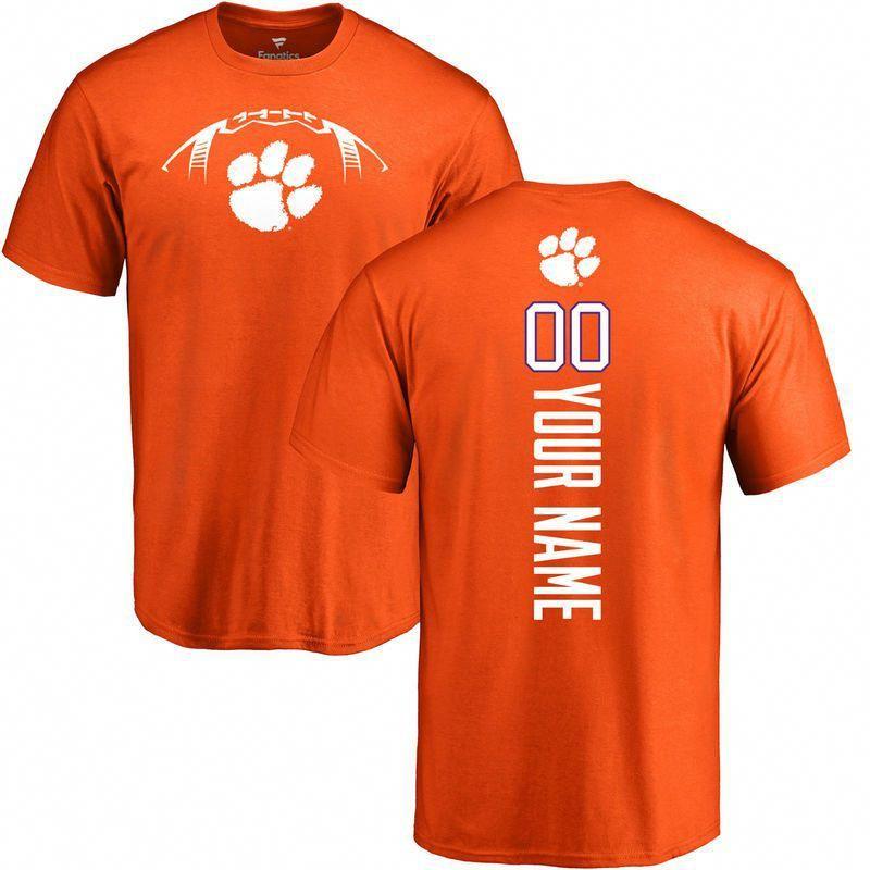 Clemson Tigers football Personalized Backer TShirt