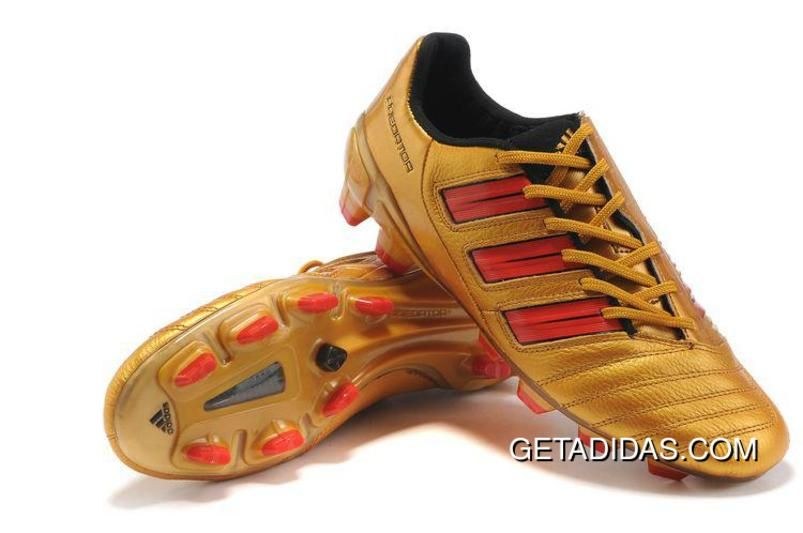 green and gold adidas football cleats