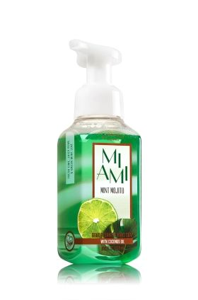 Miami Mint Mojito Gentle Foaming Hand Soap Bath Body Works