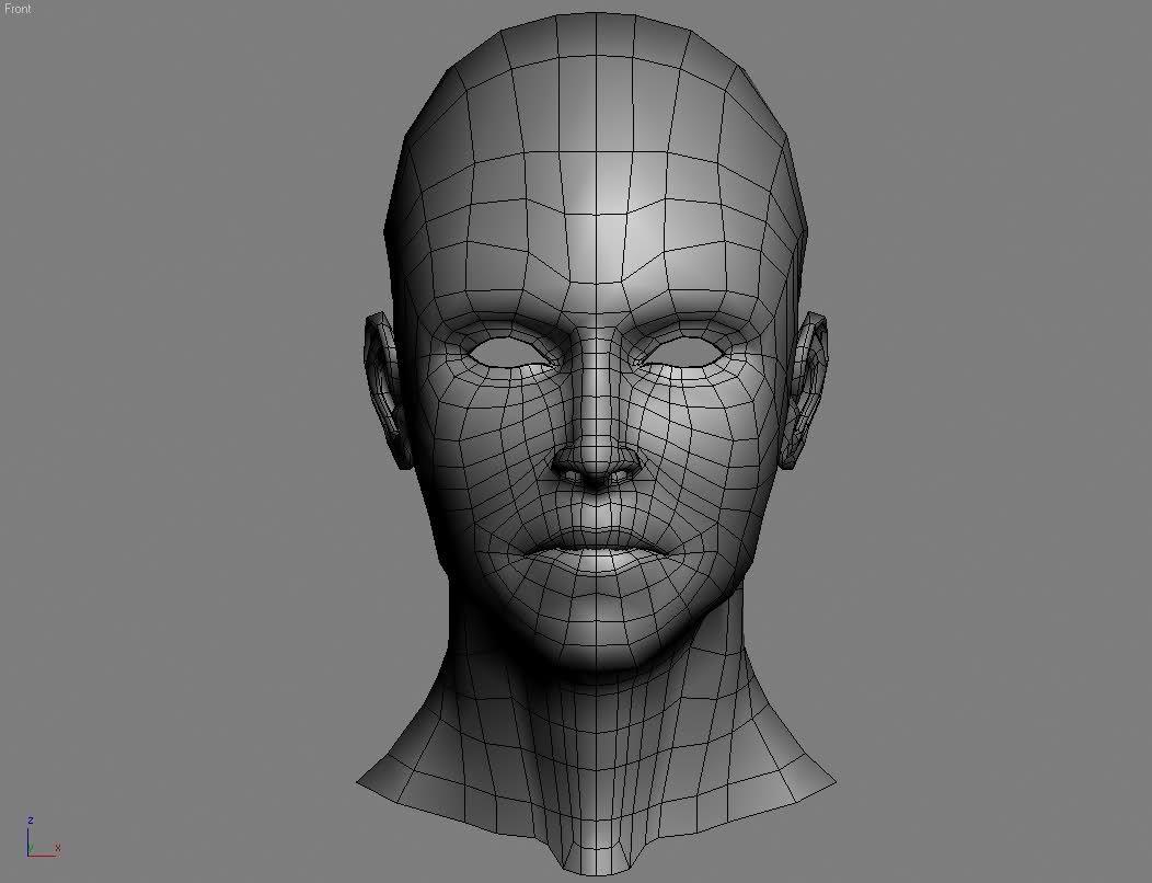 General face topo game art topo pinterest best 3d for 3ds max face modeling