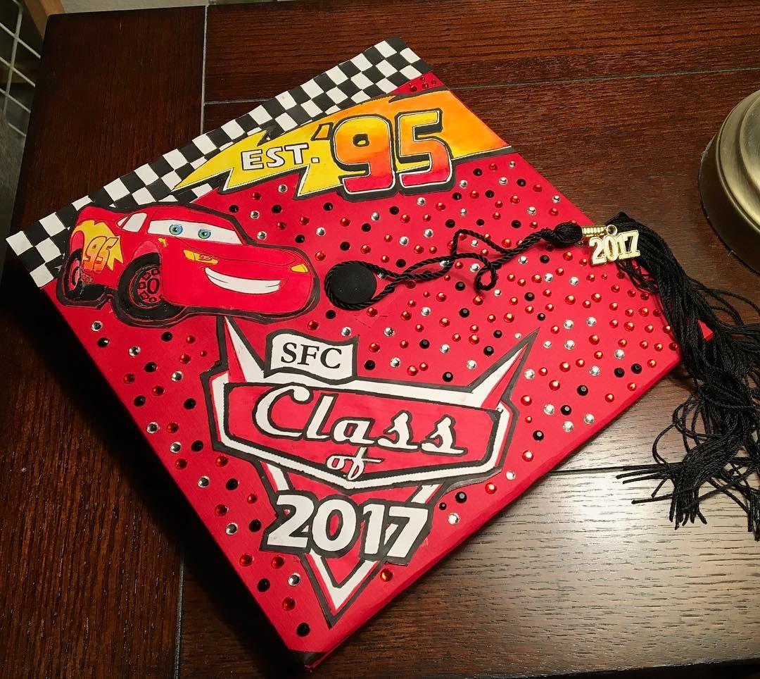 Cars themed grad Cap follow us @motivation2study for daily ...
