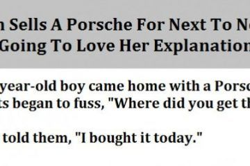 Woman Sells A Porsche For Next To Nothing 2