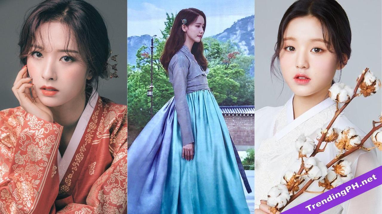 These 7 Korean Idols Look Regal In Their Hanboks In 2020 Korean Idol Jin Photo Trending Videos