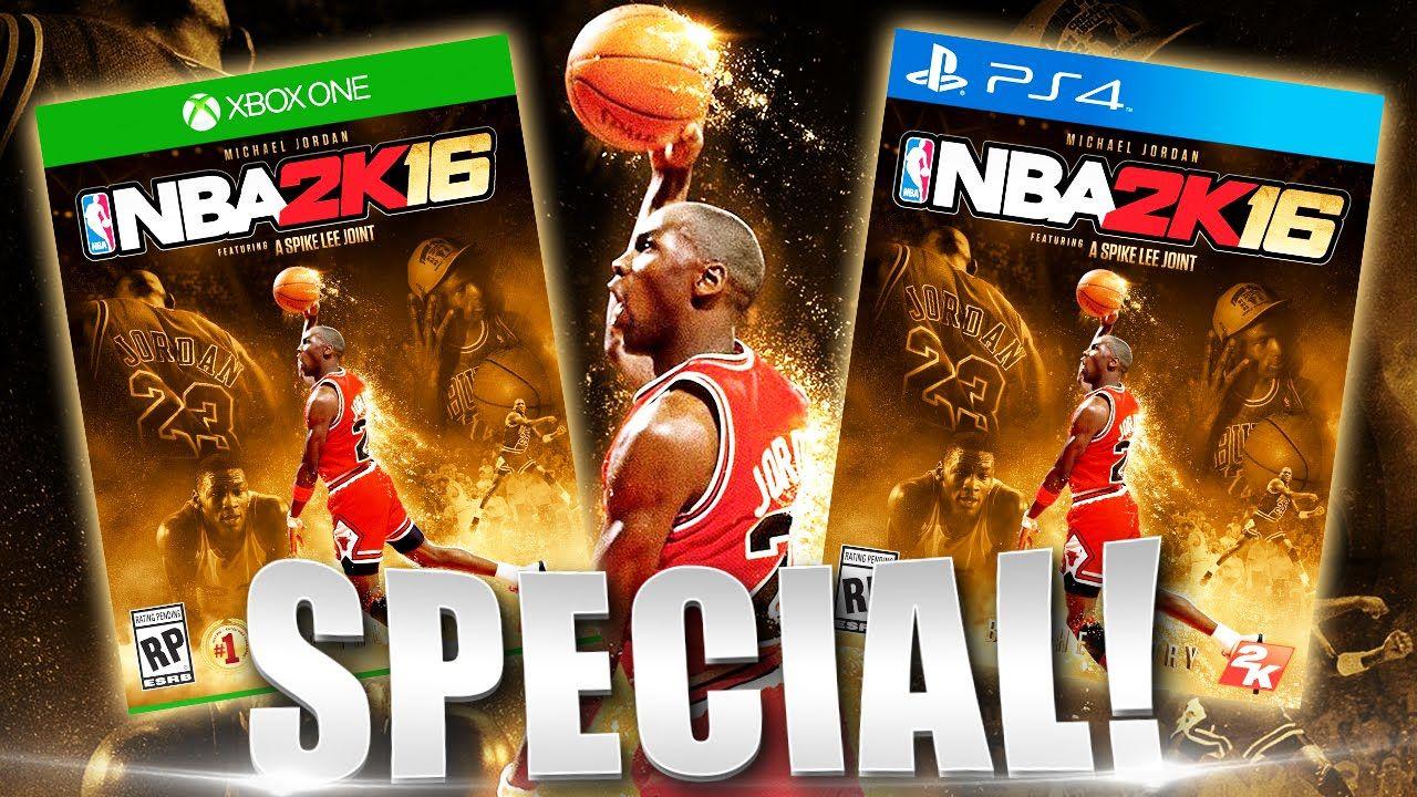 NBA 2K16 Michael Jordan Cover Special Edition