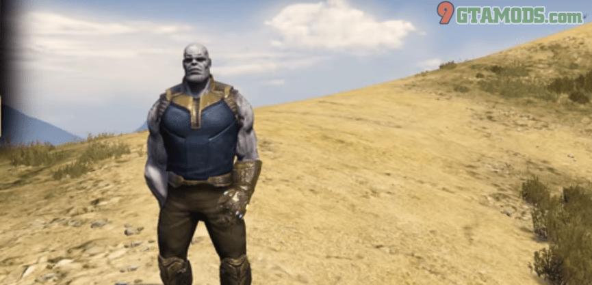 Thanos Infinity War Gotg For Gta5 Infinity War Gta 5 Mods War