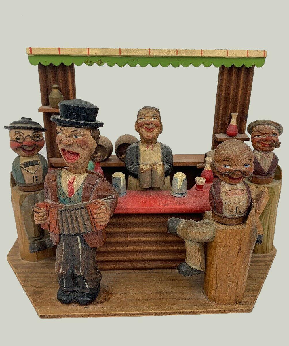 Anri folk art bar set in 2020 art folk art painting