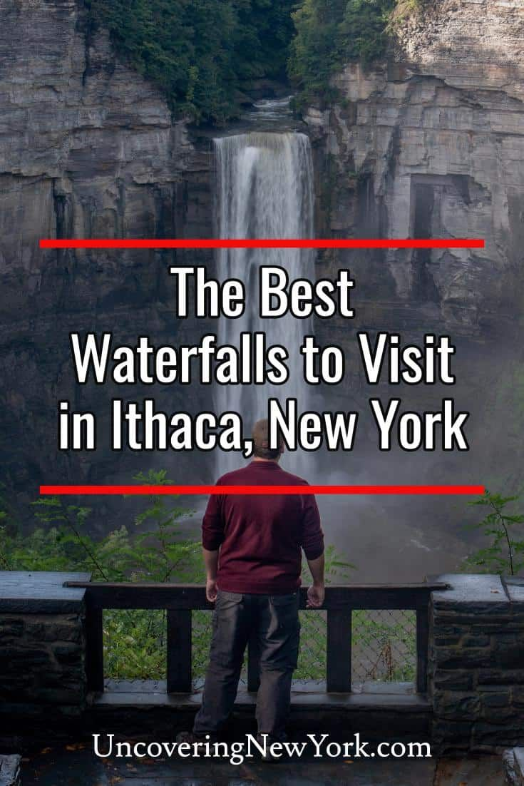 The best waterfalls in Ithaca, New York #autumninnewyork