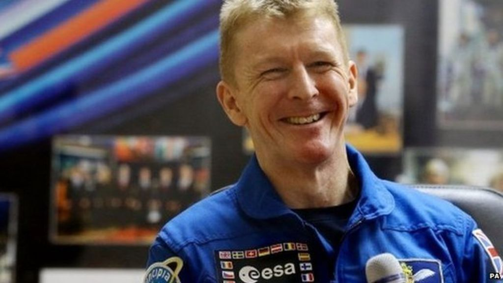 What is Tim's Christmas space plan? British astronaut