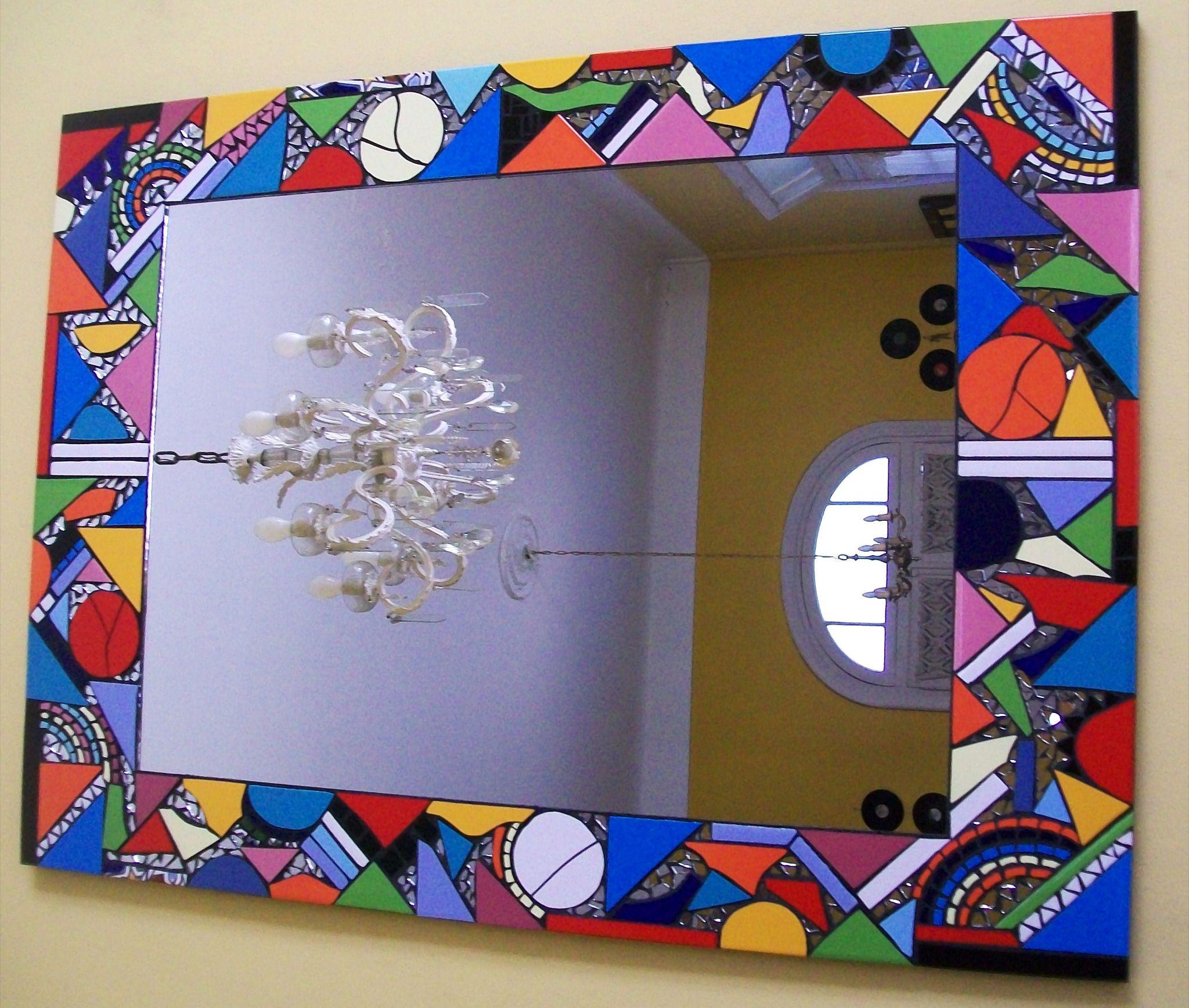 Espejo con mosaicos 70 x 96 en venta 850 for Espejo 70 mendoza