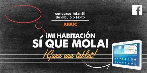 Nuevo #concurso de Kibuc en #facebook. \