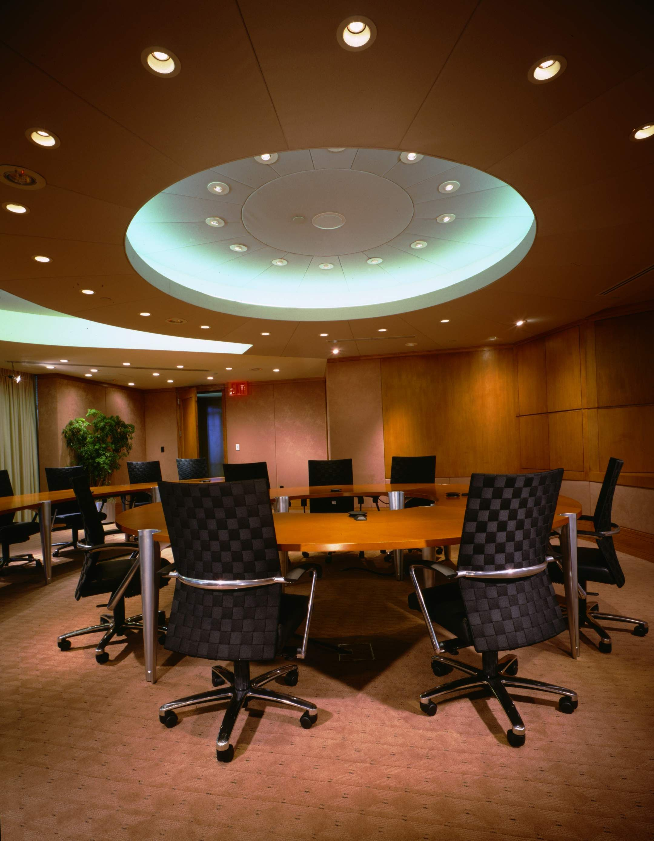 Board Room Interior. Interim Services. (Design by WSDG)