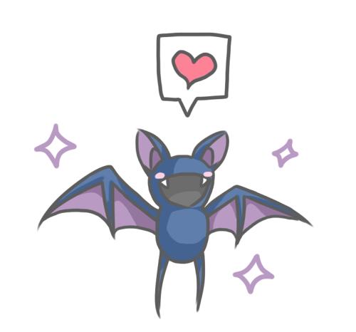 Resultado de imagem para pokemon zubat love