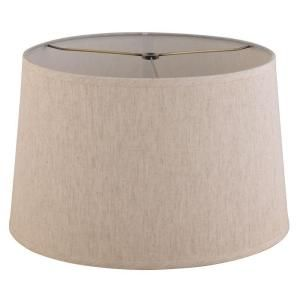 Evolution Lighting Natural Linen Barrel Shade-18152-000 at The Home Depot $20.00