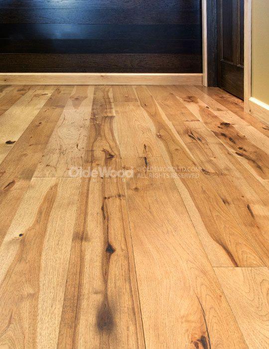 Wide Plank Hickory Flooring  Hickory wood Floor  Olde
