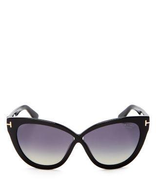 4eef43eb1c53 TOM FORD Arabella Polarized Cat Eye Sunglasses