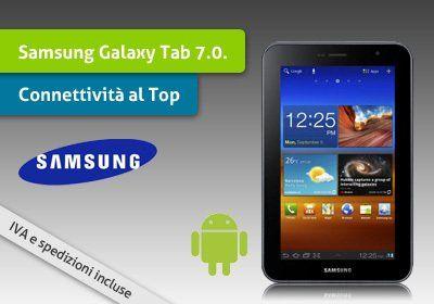 Samsung Galaxy Tab 7.0 Plus N, dotato di processore dual core, Android 3.2 (Honeycomb), WiFi, 3G e GPS a € 279,00 invece di € 399,00