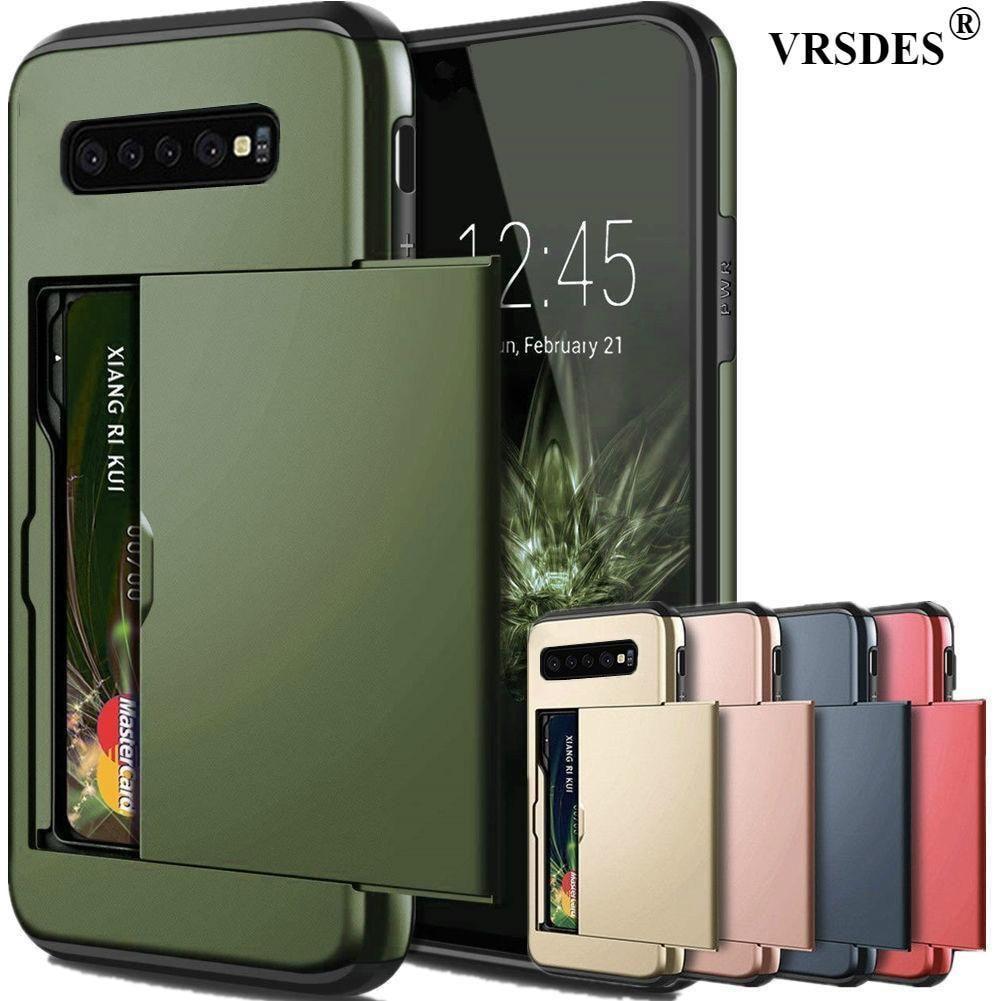 Teléfono Celular Estuche Para Galaxy S 10 e 9 8 Note 7 6 5 4 Billetera Doble Edge Plus 3