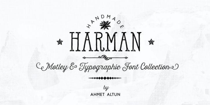 Download Harman font download