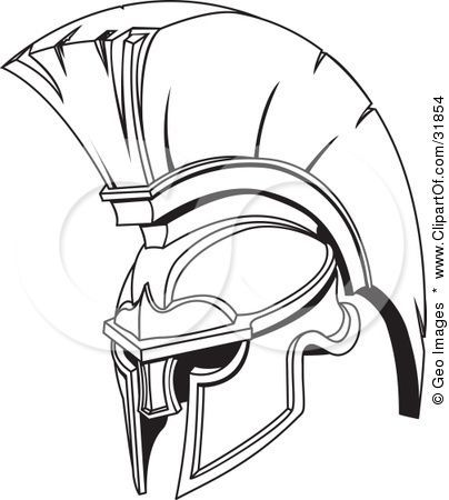 Image Result For Spartan Helmet Drawing Spartan Tattoo Helmet