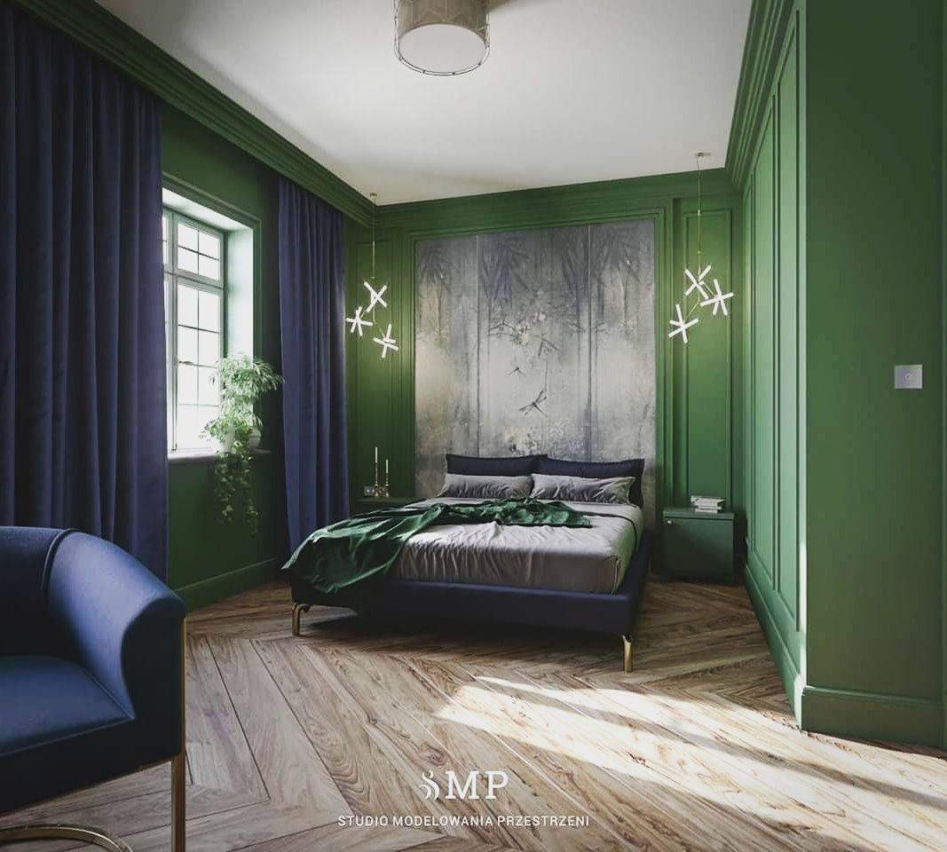 Green Bedroom Bedroom Green Wood Floor Design Dark Blue Bedrooms