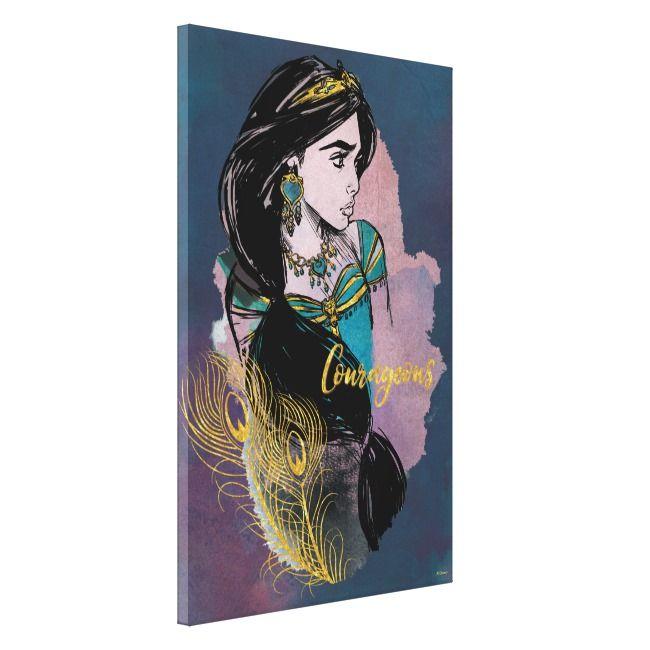 Courageous Jasmine Canvas Print