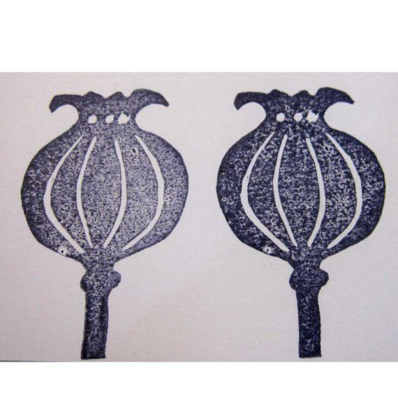 Ro Bruhn..... Hand carved stamp