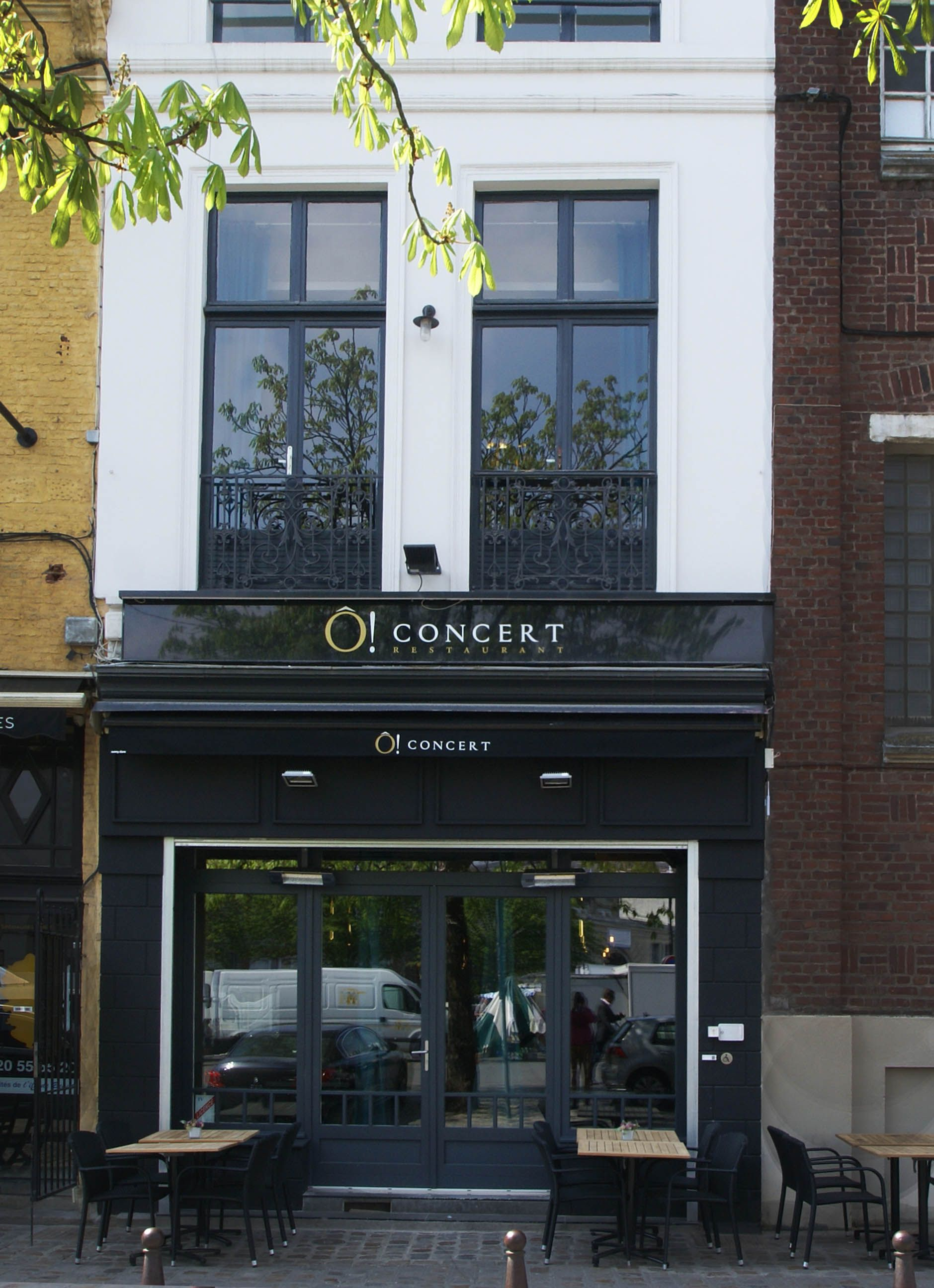 O Concert Lille restaurant Ô! concert à lille #lille #restaurant #bleu #or www
