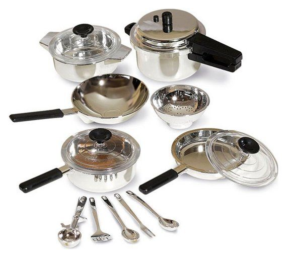 Buy Roleplay Children S Kitchen Cooking Set At Argos Co Uk Your