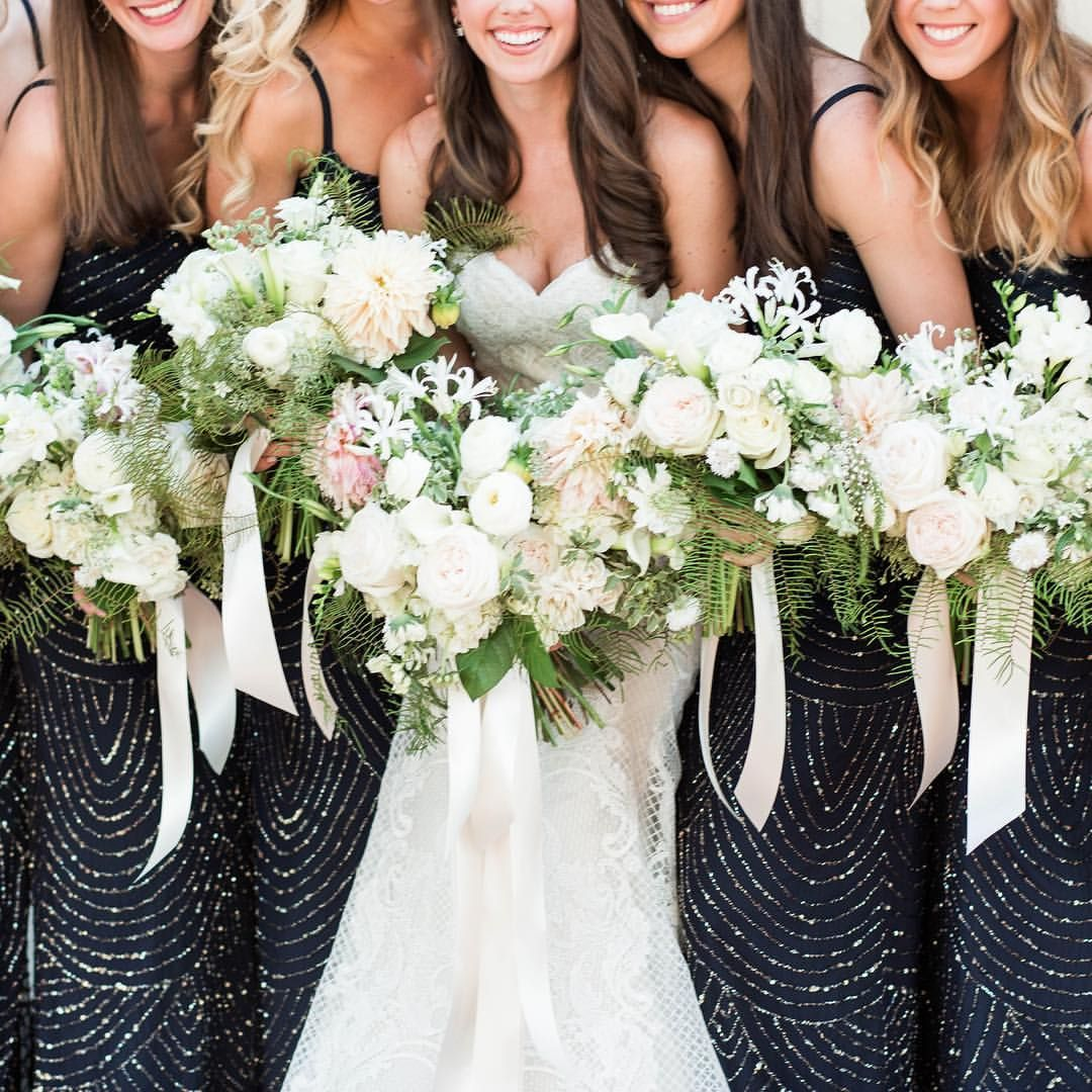 All Classic White Lagniappe Wedding Flowers At Thistle