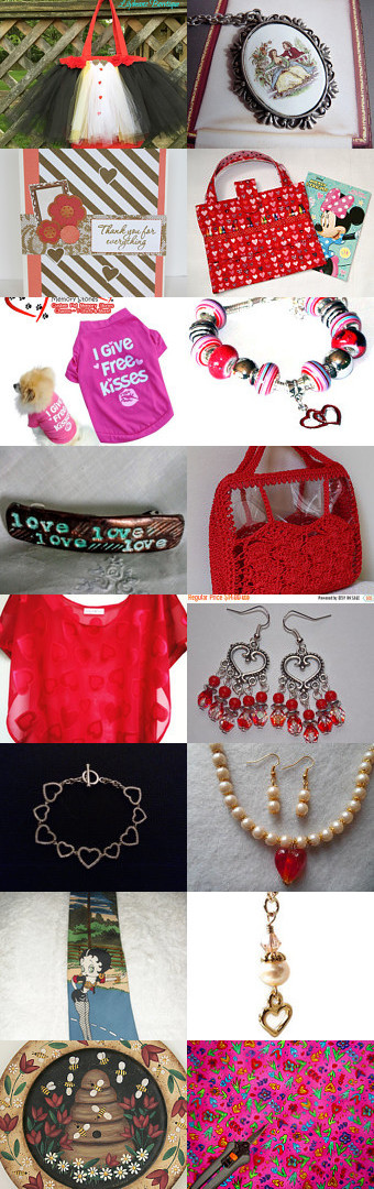 Queen of Hearts by Mishelle Ringe on Etsy--Pinned+with+TreasuryPin.com