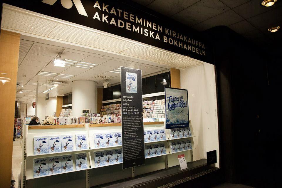 Akateeminen kirjakauppa 16.11. - 17.11.