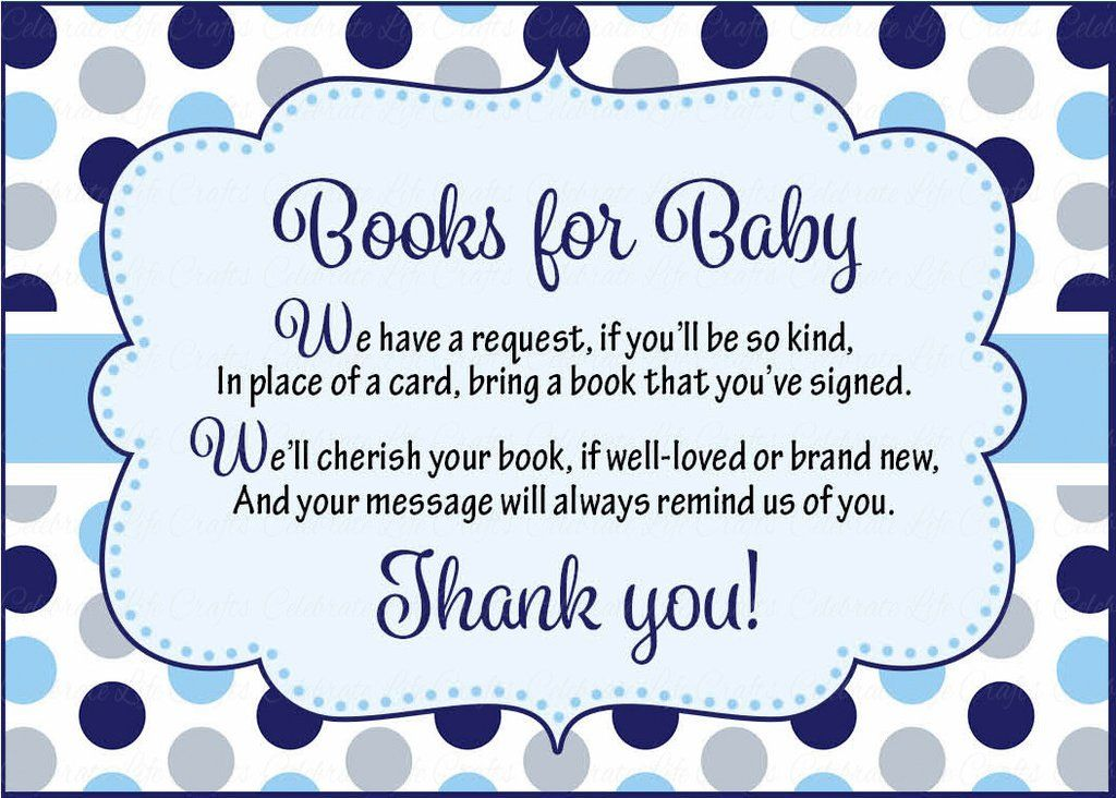 Books For Baby Cards Printable Download Navy Gray