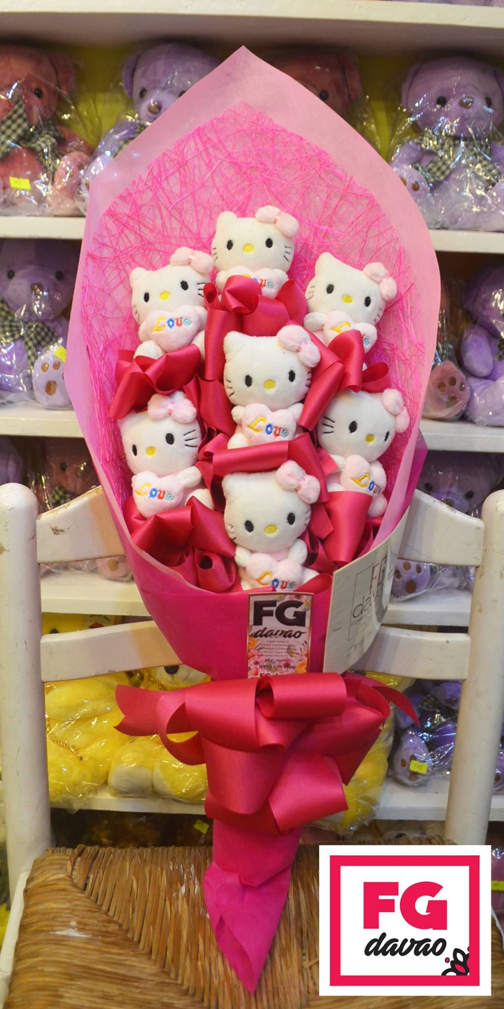 Bear bouquet flowers gifts delivery 0998