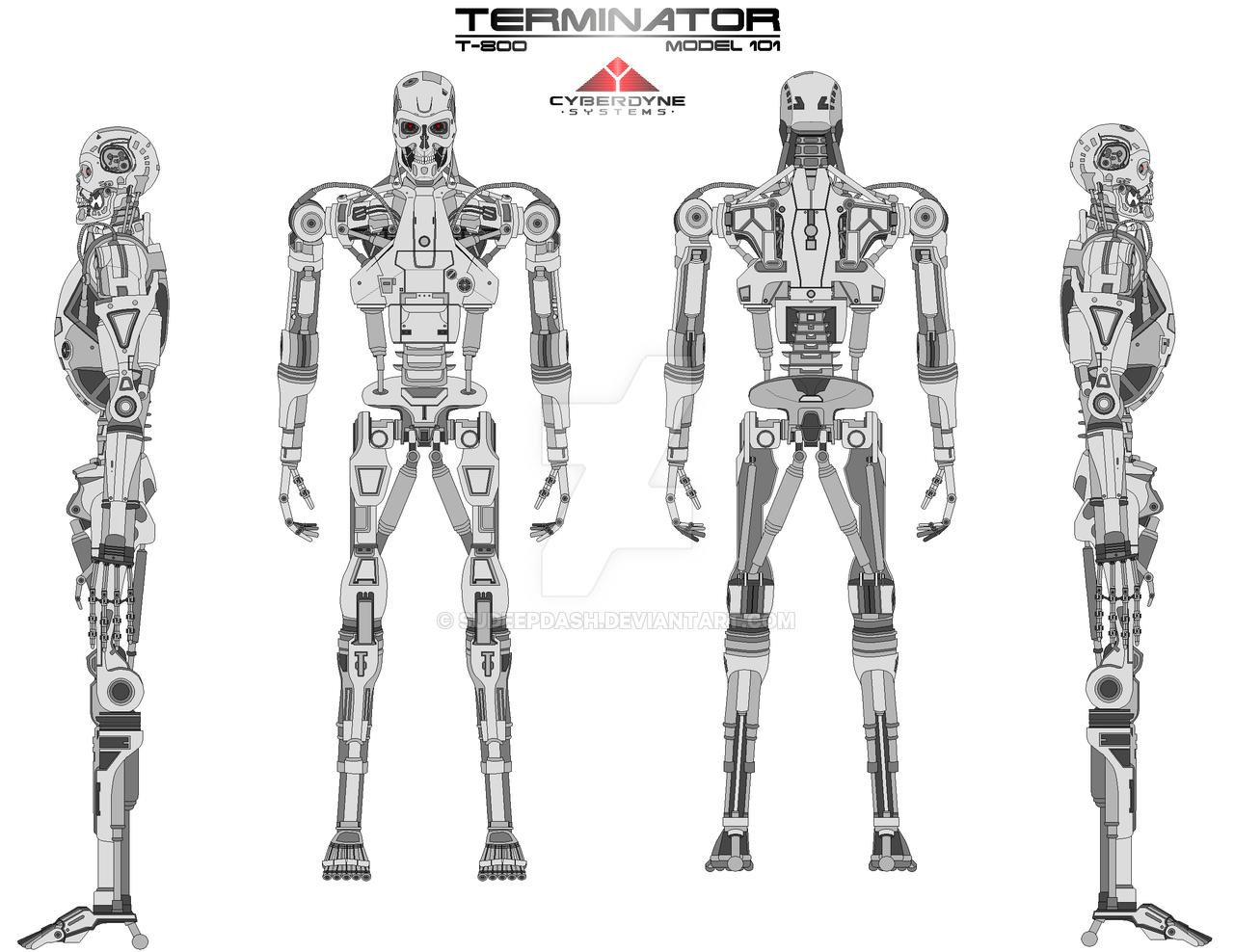 Чертежи роботов с картинками