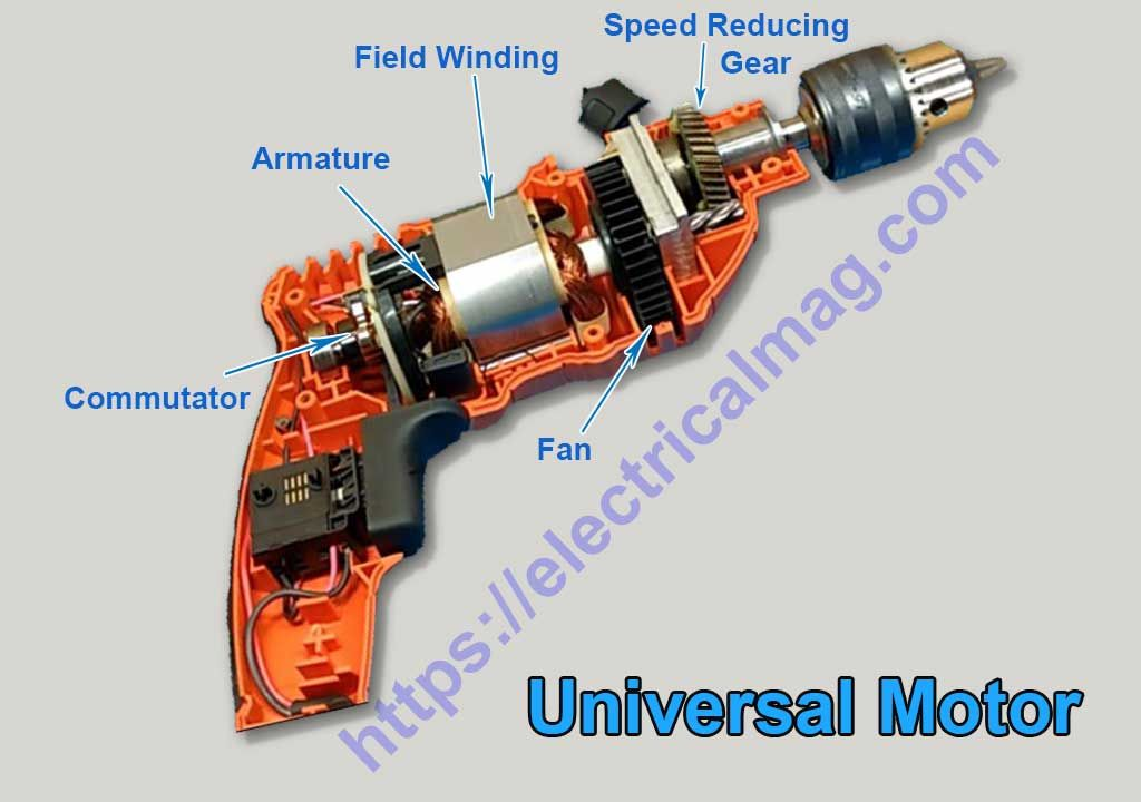 Universal Motor Characteristics Speed Control And Life With