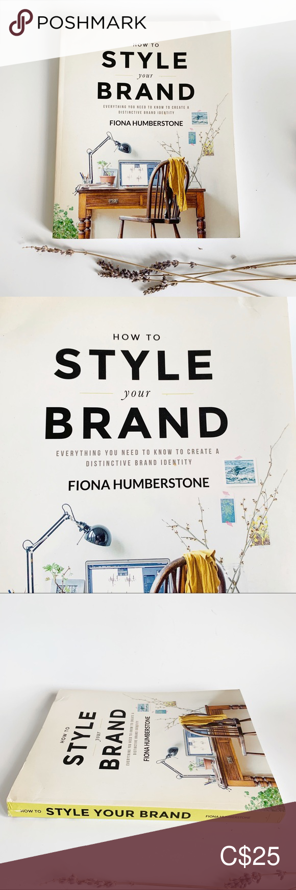 How To Style Your Brand By Fiona Humberstone Style Brand Coffee Table Books