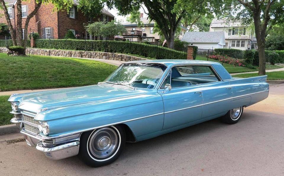 Image result for 1963 Cadillac sedan de ville