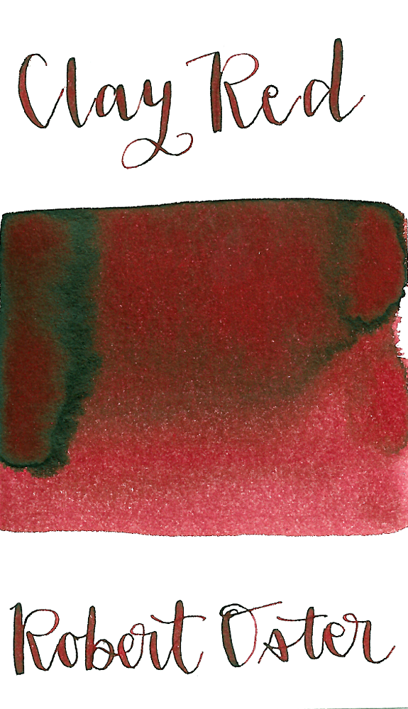 Robert Oster Clay Red | Products | Red, Ink
