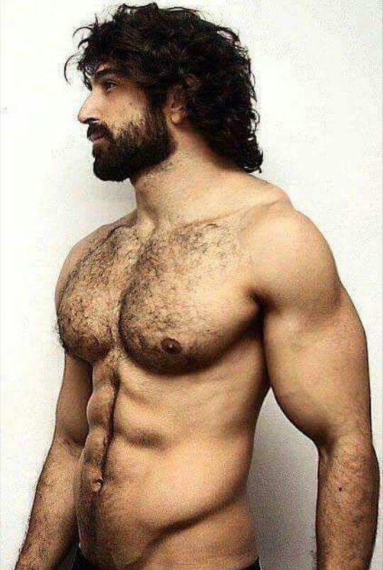 hairy models naked men