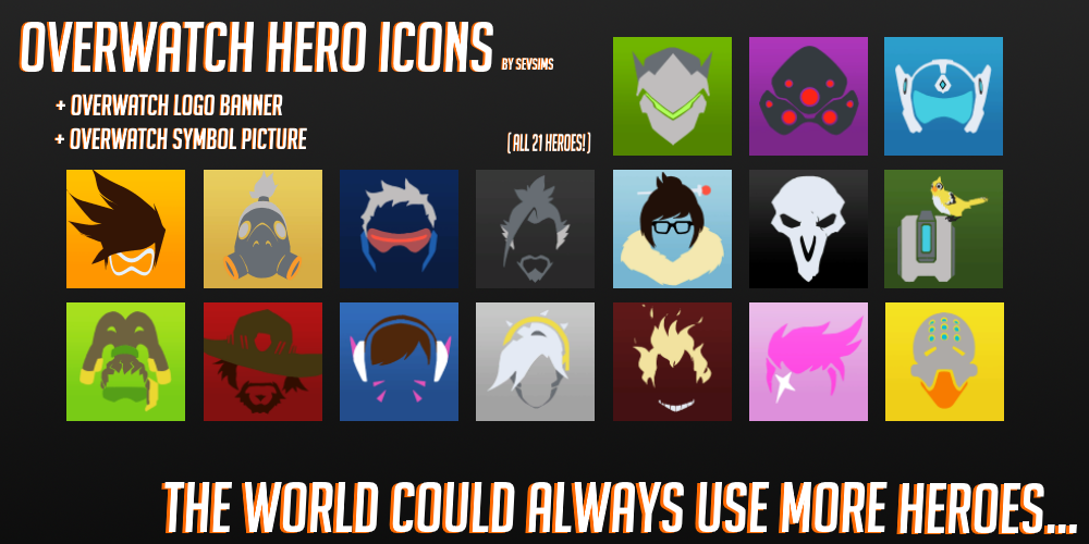 Overwatch Icons Overwatch Logo Banners Icon