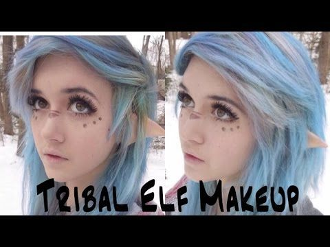 Tribal Elf Makeup Tutorial