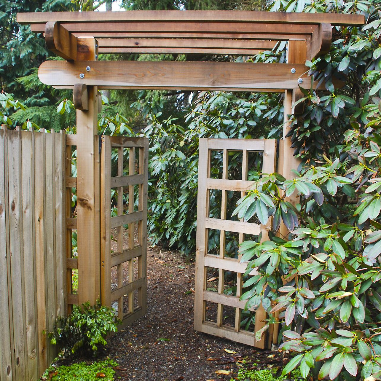 Gallery Of Wooden Garden Gates Designs