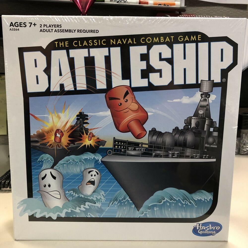 New Battleship Game classic board hasbro naval combat