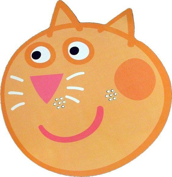 Peppa Pig - Candy Cat - Card Face Mask: Amazon.es: PINTAR y