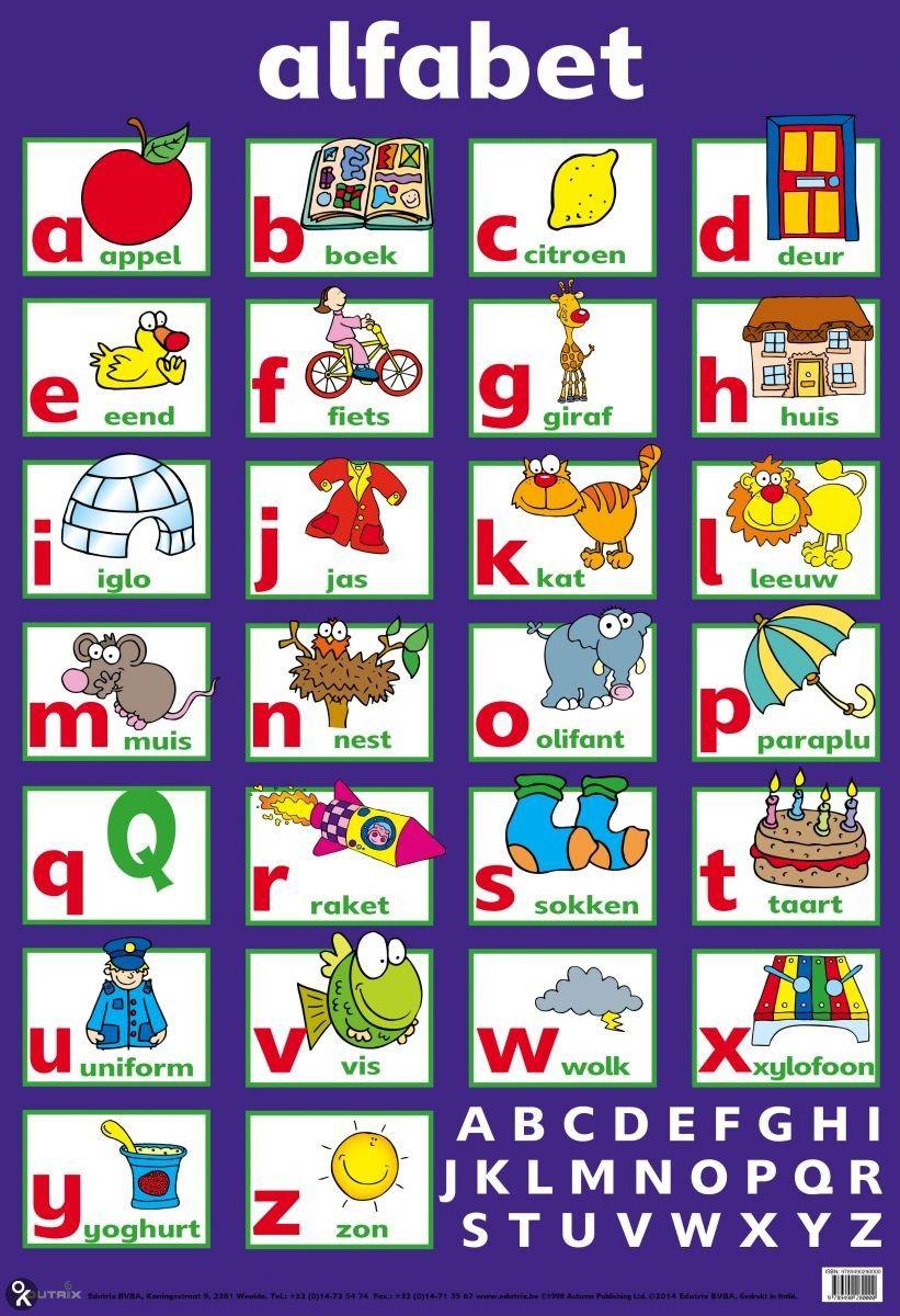 Afbeeldingsresultaat voor alfabet poster nederlands | Nederlands 3de ...