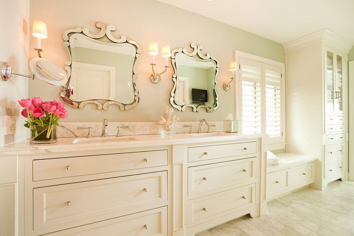 Distinctive Interior Design Tips: High-End Master Bathroom ...
